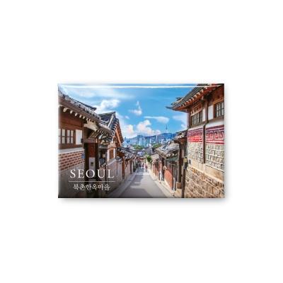 한국 여행마그넷 기념품 북촌한옥마을 길_인테리어자석
