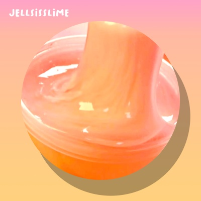 [젤시스슬라임] 복숭아푸딩 / 우드글루지글리 210ml