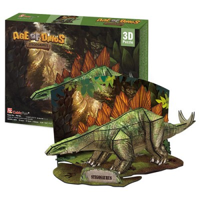 [3D퍼즐마을][P670h] 스테고사우루스 (Stegosaurus)