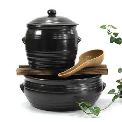 기르는 재미 옹기뚜껑 콩나물시루 세트 소 1-2인가구