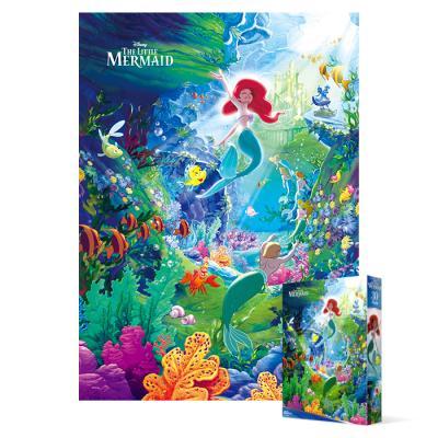 800피스 직소퍼즐 - 인어공주 바다 정원 (미니)