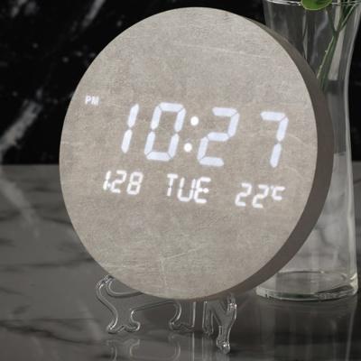플라이토 문클락 인테리어 LED 벽시계