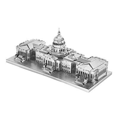 3D입체퍼즐▶ 메탈실버 - 미국 국회의사당 (미니)