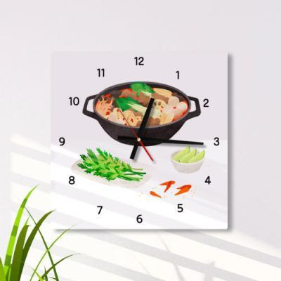 ia520-음식점시계(마라탕)_인테리어벽시계