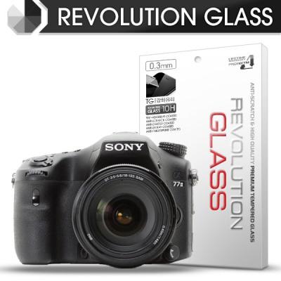 [프로텍트엠/PROTECTM] 레볼루션글라스 0.3T 강화유리필름 방탄액정보호 2장 디지털 카메라 CAMERA SONY 소니 ILCA-77M2 / 77M2Q