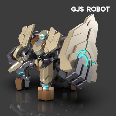 인공지능 휴머노이드 모션싱크로봇 갠커엑스쉴드