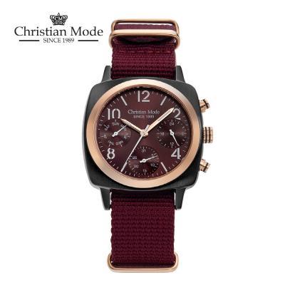 크리스챤모드(Christian Mode) 남성 나토시계 CM419WI