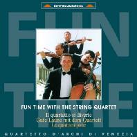 FUN TIME WITH THE STRING QUARTET/ QUARTETTO DI VENEZIA [현악사중주와 함께 하는 즐거운 순간: 베네치아 현악 사중주단]