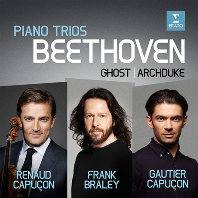 "PIANO TRIOS - THE GHOST, ARCHDUKE/ RENAUD CAPUCON, FRANK BRALEY, GAUTIER CAPUCON [베토벤: 피아노 삼중주 5번 ""유령"", 7번 ""대공"" - 르노 & 고티에 카퓌송, 브레일리]"