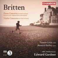 PIANO & VIOLIN CONCERTO/ TASMIN LITTLE, HOWARD SHELLEY, EDWARD GARDNER