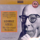 FOUR SYMPHONIES/ CLEVELAND ORCHESTRA/ GEORGE SZELL