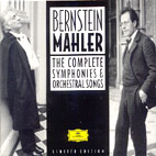 THE COMPLETE SYMPHONIES & ORCHESTRAL SONGS/ BERNSTEIN