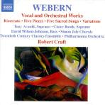 VOCAL AND ORCHESTRAL WORKS/ ROBERT CRAFT