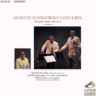 PIANO TRIO, DIVERTIMENTO FOR CELLO AND ORCHESTRA, TEMA CON VARIAZIONI/ JASCHA HEIFETZ, GREGOR PIATIGORSKY [SACD HYBRID] [베토벤: 피아노 삼중주, 하이든: 첼로를 위한 디베르티멘토, 로자: 피아노 5중주 - 하이페츠, 피아티고르스키]