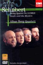 STRING QUARTET NO.14 D810 DEATH AND THE MAIDEN/ ALBAN BERG QUARTETT