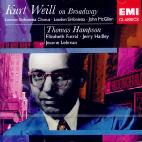 KURT WEILL ON BROADWAY/ THOMAS HAMPSON