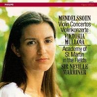 VIOLIN CONCERTOS/ VIKTORIA MULLOVA, NEVILLE MARRINER [멘델스존: 바이올린 협주곡 - 빅토리아 뮬로바, 매리너]