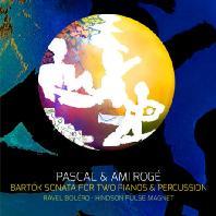 BARTOK: SONATA FOR TWO PIANOS & PERCUSSION, RAVEL: BOLERO, HINDSON: PULSE MAGNET [파스칼 & 아미 로제: 라벨 볼레로 (두대 피아노와 타악기 버전), 바르톡 두 대의 피아노와 퍼커션을 위한 소나타, 힌슨 펄스 자석]