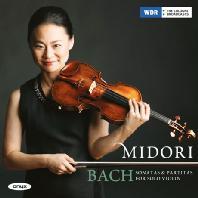 SONATAS & PARTITAS FOR SOLO VIOLIN/ MIDORI [바흐: 무반주 바이올린 소나타와 파르티타 전곡 - 미도리]