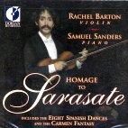 HOMAGE TO SARASATE/ RACHEL BARTON PINE, SAMUEL SANDERS [사라사테 예찬: 바이올린 소품집]