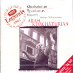 SPARTACUS, GAYANEH/ ARAM KHACHATURIAN, ERNEST ANSERMET [DECCA LEGENDS]
