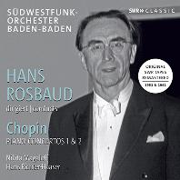 PIANO CONCERTOS 1 & 2/ NIKITA MAGALOFF, HANS RICHTER-HAASER, HANS ROSBAUD [쇼팽: 피아노 협주곡 - 마갈로프, 하저, 한스 로즈바우트]