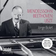 PIANO RECITAL 1988: MENDELSSOHN, BEETHOVEN, LISZT [호르헤 볼레: 멘델스존: 전주곡과 푸가, 베토벤: 열정 소나타, 리스트 외]