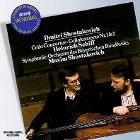 CELLO CONCERTOS 1&2/ HEINRICH SCHIFF/ SOBR/ MAXIM SHOSTAKOVICH