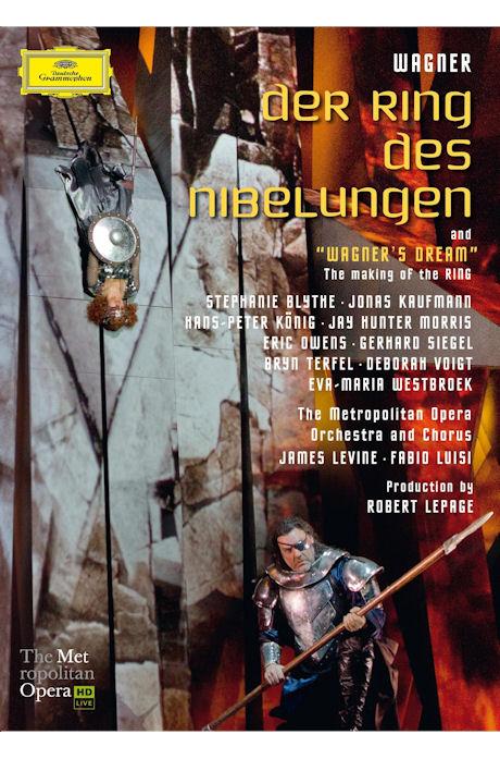 DER RING DES NIBELUNGEN/ JAMES LEVINE [바그너 니벨룽겐의 반지: 제임스 레바인 메이킹영상 포함]