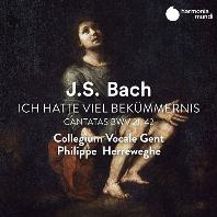 ICH HATTE VIEL BEKUMMERNIS - CANTATAS BWV 21, 42/ COLLEGIUM VOCALE GENT, PHILIPPE HERREWEGHE [바흐: 칸타타 21, 42번 - 콜레기움 보칼레, 필립 헤레베헤]