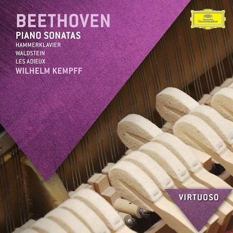 PIANO SONATAS/ WILHELM KEMPFF [VIRTUOSO] [베토벤: 피아노 소나타 - 빌헬름 켐프]