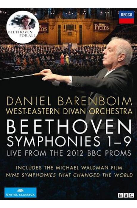 SYMPHONIES 1-9/ DANIEL BARENBOIM [베토벤: 교향곡 전곡 - 2012 프롬실황]