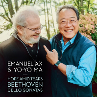 HOPE AMID TEARS: CELLO SONATAS/ YO-YO MA, EMANUEL AX [베토벤: 첼로 소나타 전곡집 - 요요 마, 엠마뉴엘 엑스]