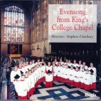 EVENSONG FROM KING`S COLLEGE CHOIR/ CLEOBURY