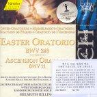 EASTER ORATORIO BWV249/ ASCENSION ORATORIO BWV11/ HELMUTH RILLING