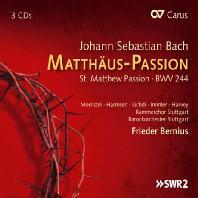 ST. MATTHEW PASSION BWV 244/ FRIEDER BERNIUS [바흐: 마태 수난곡]