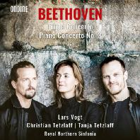 TRIPLE CONCERTO & PIANO CONCERTO NO.3/ LARS VOGT, CHRISTIAN TETZLAFF, TANJA TETZLAFF [베토벤: 3중 협주곡, 피아노 협주곡 3번 - 포그트 & 테츨라프]