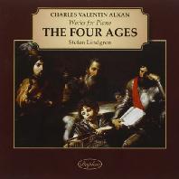 THE FOUR AGES: WORKS FOR PIANO/ STEFAN LINDGREN [알캉: 소나타 <네 세대>, 교향곡 - 스테판 린드그렌]