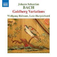 GOLDBERG VARIATIONS/ WOLFGANG RUBSAM [바흐: 골드베르크 변주곡 - 볼프강 뤼브삼]