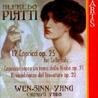 12 CAPRICCI FOR CELLO/ WEN SINN-YANG, CHIFUYU YADA