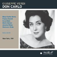 DON CARLO/ NINO VERCHI [NEW YORK 1961] [베르디: 돈 카를로]
