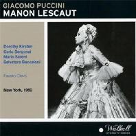 MANON LESCAUT/ FAUSTO CLEVA [NEW YORK 1960]