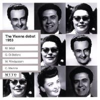 THE VIENNA DEBUT 1953