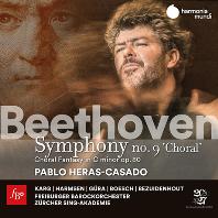 "SYMPHONY NO.9 ""CHORAL"" & CHORAL FANTASY OP.80/ PABLO HERAS-CASADO [베토벤: 교향곡 9번, 합창 환상곡 - 파블로 헤라스 카사도]"