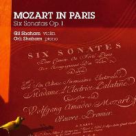 MOZART IN PARIS: SIX SONATAS OP.1/ GIL SHAHAM, ORLI SHAHAM [모차르트 인 파리: 바이올린 소나타 1집 - 길 샤함, 올리 샤함]