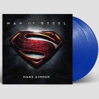 MAN OF STEEL [맨 오브 스틸] [180G BLUE LP]