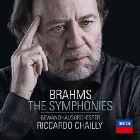 THE SYMPHONIES/ RICCARDO CHAILLY [브람스: 교향곡 전곡 - 리카르도 샤이]