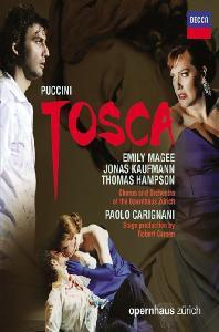 TOSCA/ JONAS KAUFMANN, PAOLO CARIGNANI [푸치니: 토스카 - 요나스 카우프만]