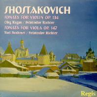 SONATAS FOR VIOLIN AND VIOLA/ OLEG KAGAN, SVIATOSLAV RICHTER