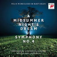 A MIDSUMMER NIGHT'S DREAM & SYMPHONY NO.4/ ALEXANDER LIEBREICH [멘델스존: 한여름밤의 꿈 & 교향곡 4번]